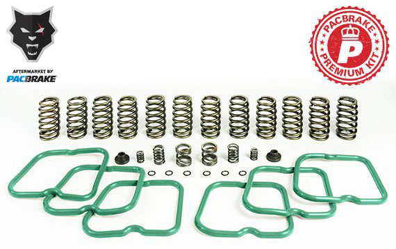 Pacbrake HP10243 Premium Spring Kit (12 Springs) for 1994-1998 Dodge Ram Cummins
