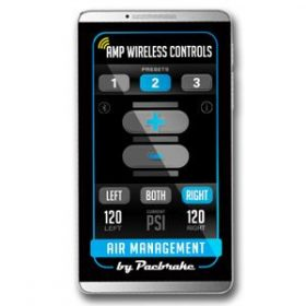 Android Phone - Wireless Air Spring Controls app